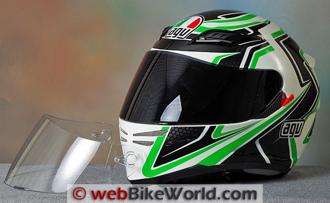 AGV Horizon Dark Face Shield