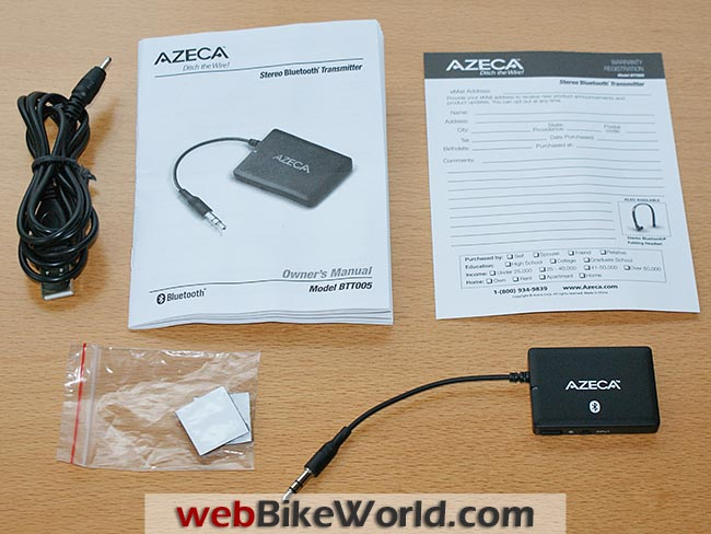 Azeca Bluetooth Adapter Kit