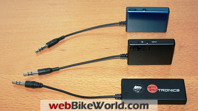 Bluesense Azeca and Taotronics Bluetooth Adapter Transmitters