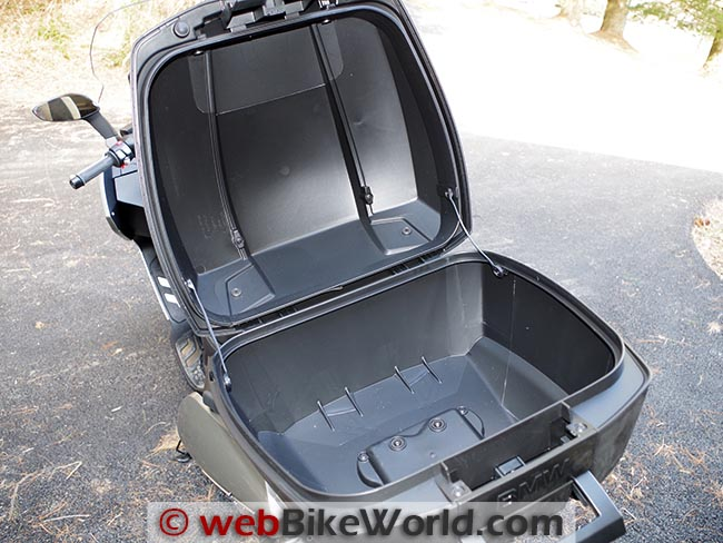 BMW Scooter Top Box Capacity