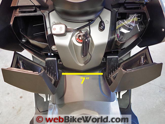 BMW Scooter Tunnel Width