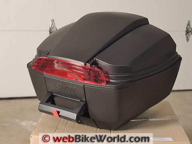 BMW Scooter Top Box Before Side Panels