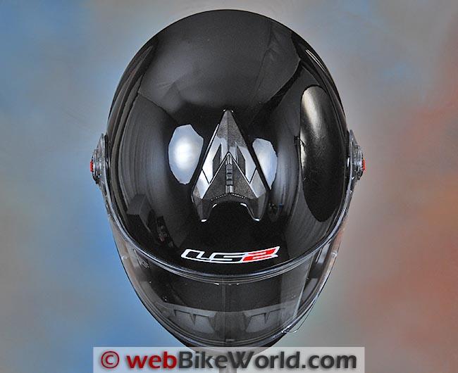 LS2 FF394 Helmet Top View