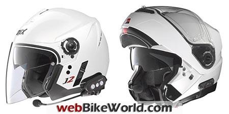 Nolan Helmets With Intercoms