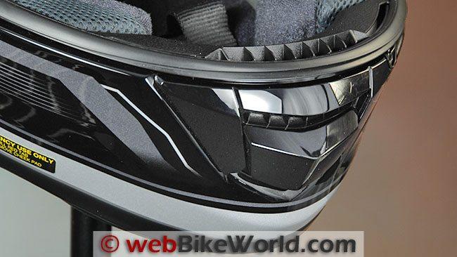 Shoei GT Air Chin Vent