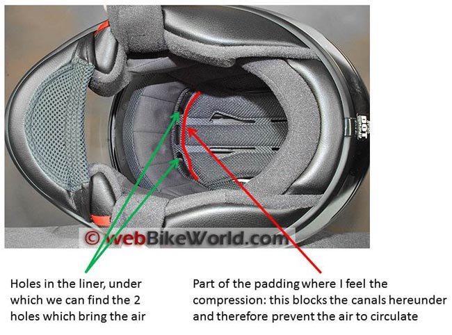 Shoei GT Air Helmet Liner Problems