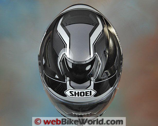 Shoei GT Air Top View
