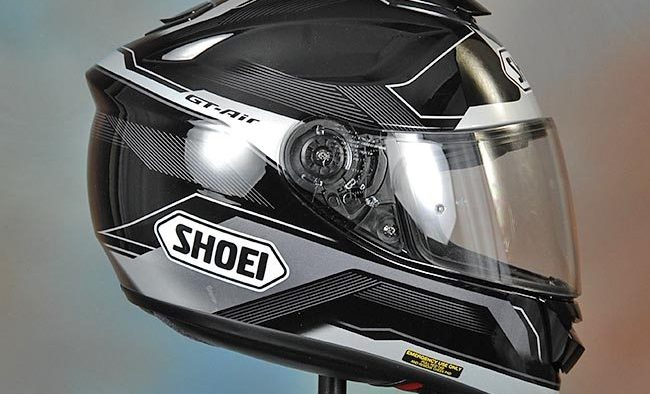 shoei gt air side view