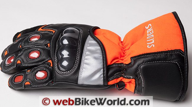 Sliders Cold Pro Waterproof Gloves Side