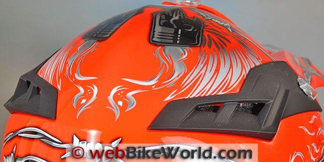 Airoh Terminator Helmet Rear Vents