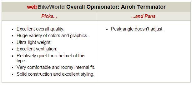 Airoh Terminator Opinionator