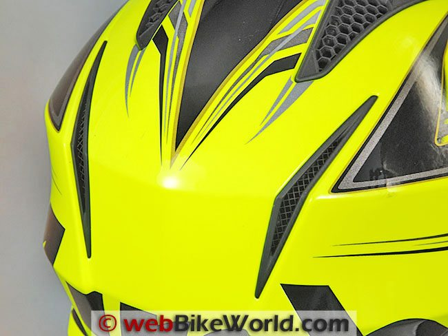 Airoh Trr Helmet Rear Vents