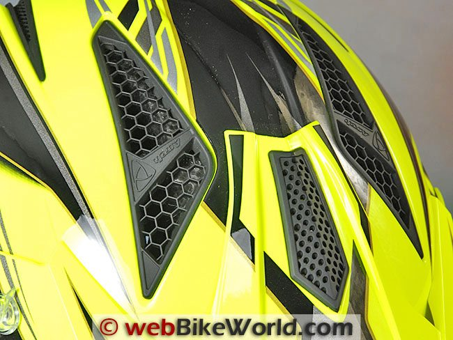 Airoh Trr Helmet Top Vents