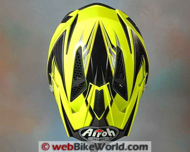Airoh Trr Helmet Top View