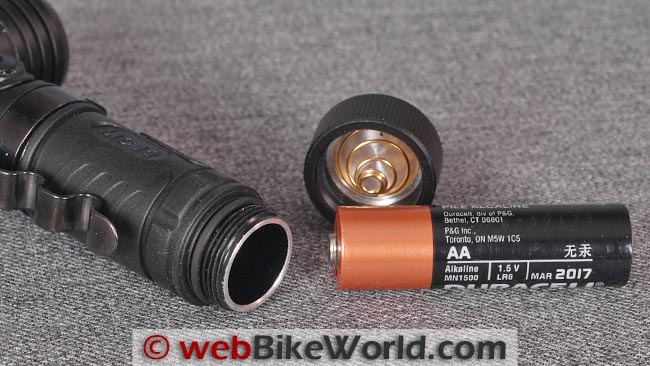Fenix MC11 Flashlight Battery
