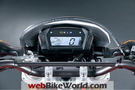 Honda CRF250L Instruments