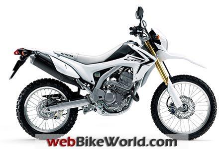 Honda CRF250L White