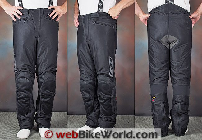 Rukka Airvision Pants Front Rear Views