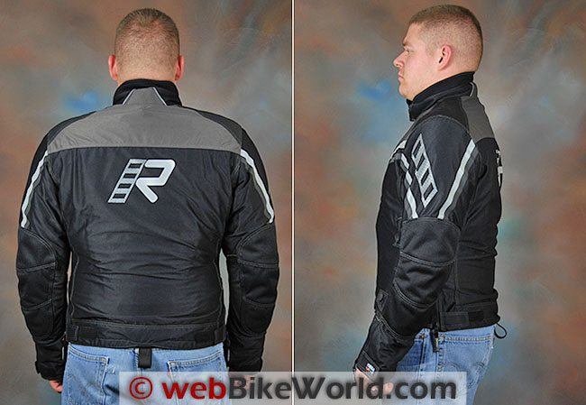 Rukka Airway Jacket Rear Side Views