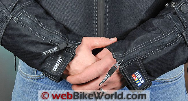 Rukka Airway Jacket Sleeve Cuffs