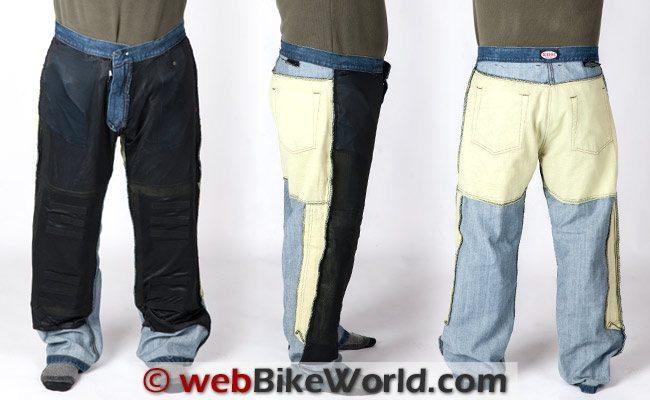 Sliders 4.0 Jeans 3 Views Inside