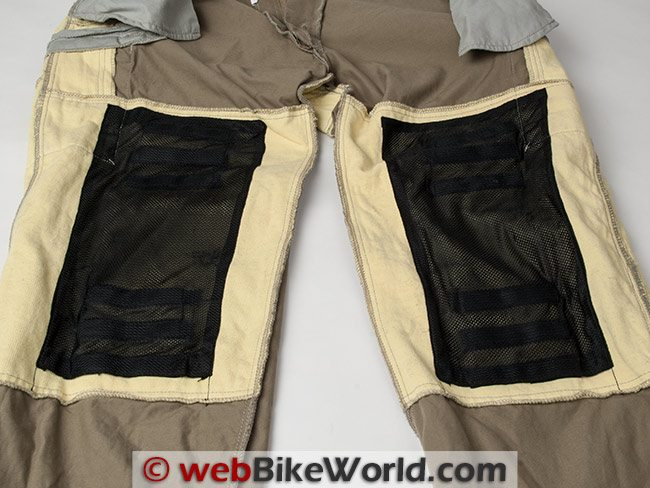 Sliders Cargo Pants Knee Armor