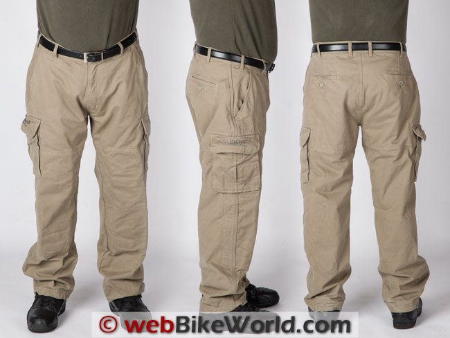 Sliders Cargo Pants Three Views