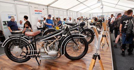 BMW Motorrad Days Exhibit