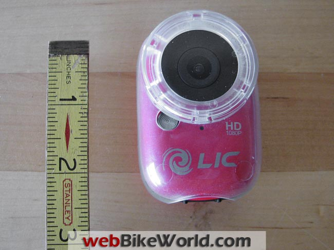 Liquid Image Ego 727 Camera Size