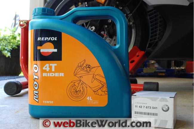 Repsol Oil and Filter