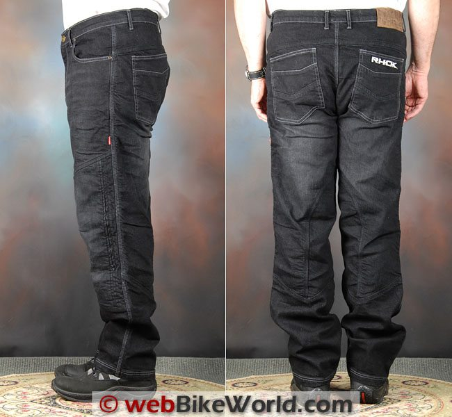 RHOK Jeans Side Rear Views
