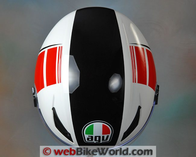AGV Blade Helmet Top View