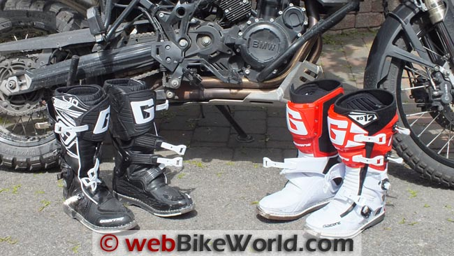 Gaerne SG10 and SG12 Boots