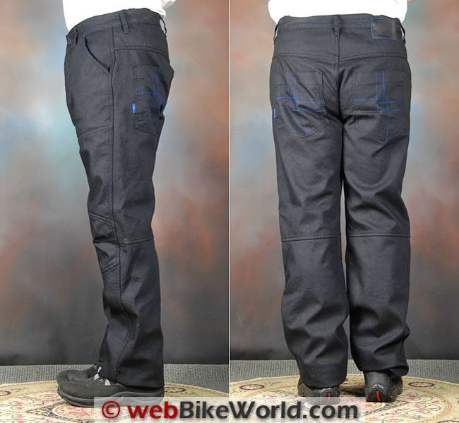Overlap Imatra Jeans Side Rear Views