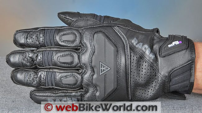 Racer Guide Gloves Top View