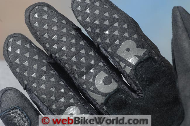Racer Mickey Gloves Finger Grip Pads