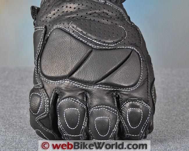 Racer Summer Fit Gloves Knuckles