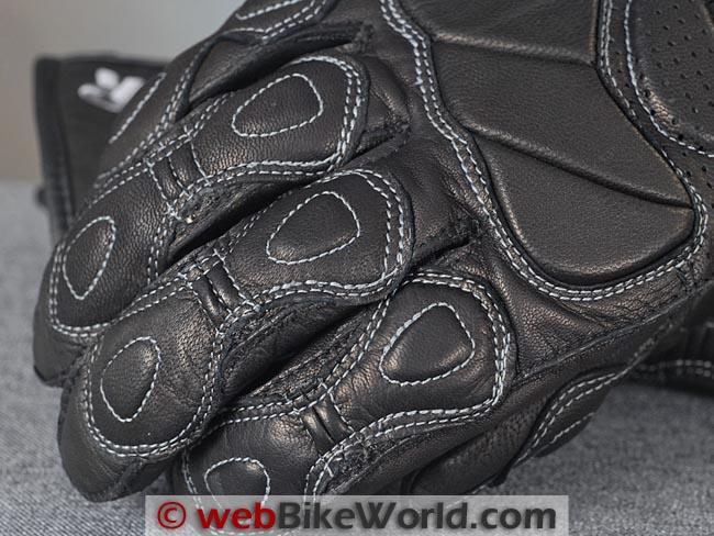 Racer Summer Fit Gloves Stitching