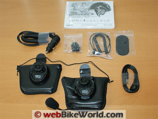 Sena SPH10H Intercom Kit