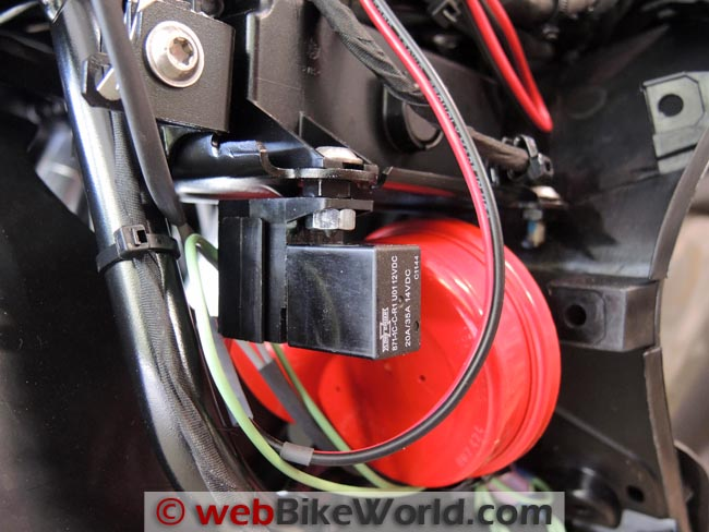 Fabulous Dual Horn Relay Wiring Harness Webbikeworld Wiring Cloud Staixuggs Outletorg