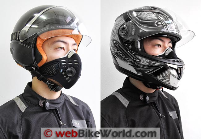 Respro Sportsta Mask With Helmets