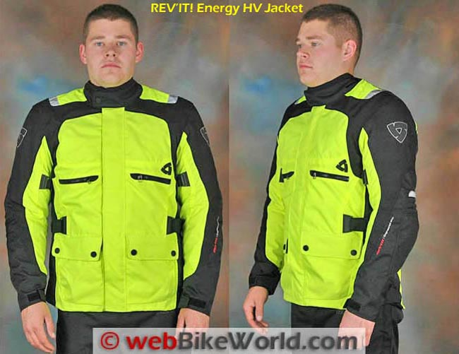 REV'IT! Energy HV Jacket Front Side Views