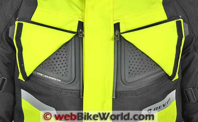 REV'IT! Horizon HV Jacket VCS Aquadefence Vents