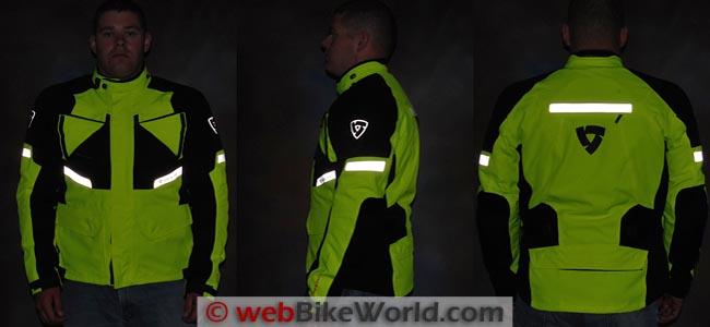 REV'IT! Horizon HV Jacket Reflectivity