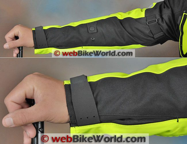 REV'IT! Horizon HV Jacket Sleeve Adjusters