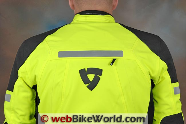 REV'IT! Horizon HV Jacket Rear Shoulders