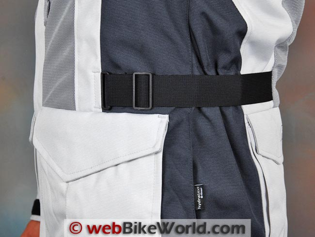 Rev'it Levante Jacket Adjustment