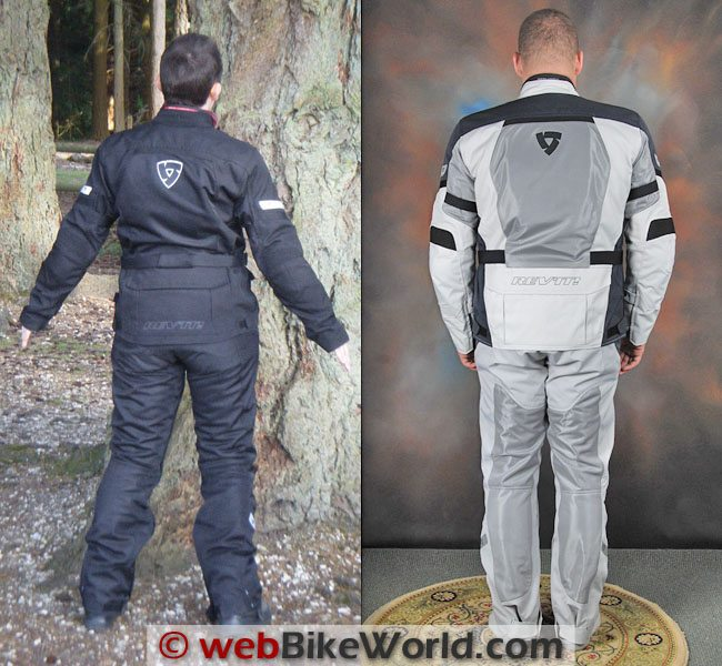 Rev'it Levante Jacket and Airwave Pants Rear View