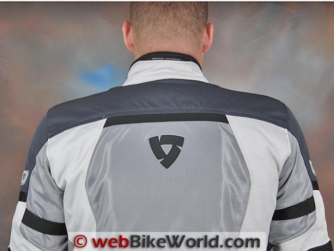 Rev'it Levante Jacket Back