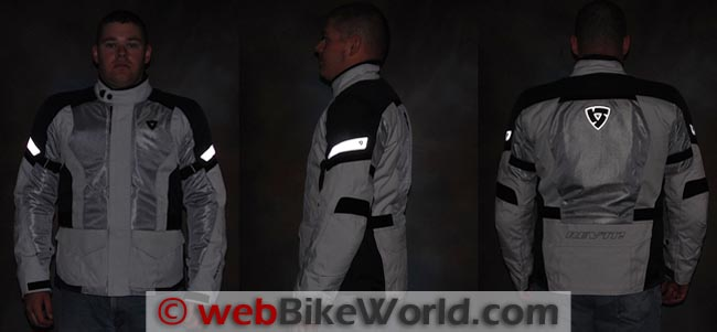 Rev'it Levante Jacket Reflectivity